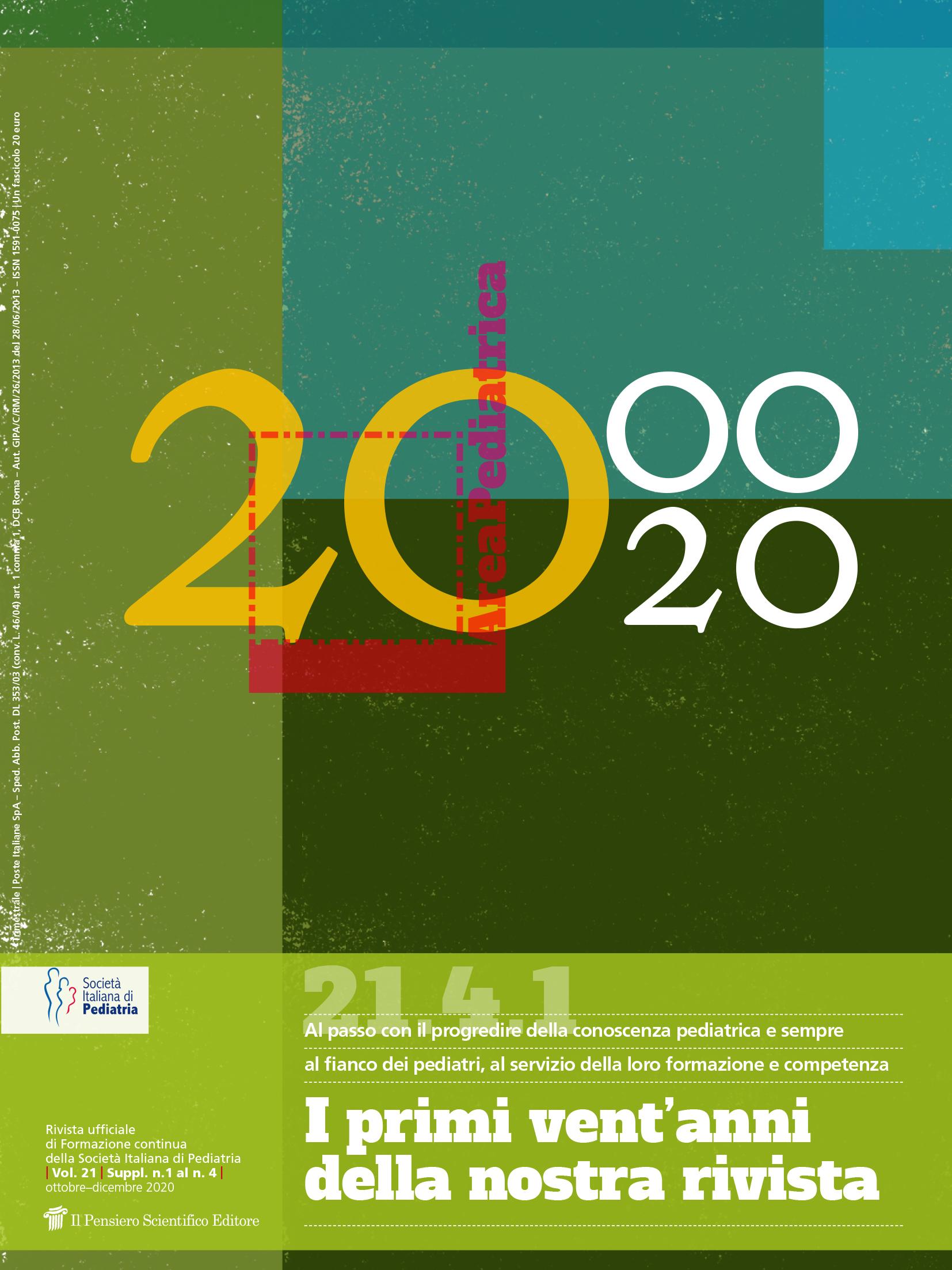 2020 Vol. 21 Suppl. 1 al N. 4 Ottobre-Dicembre